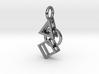Bauhaus Pendant 3d printed