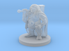 Dwarven Male Cleric No Beard 3d printed