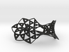 Sierpinski Triangle Mobius 3d printed