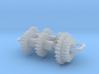 Bachmann N US 4-8-4 Axles & Gear (3rd Generation) 3d printed