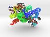 Rhomboid Protease GlpG (Large) 3d printed