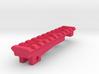 Top Picatinny Rail for Nerf ZombieStrike NailBiter 3d printed