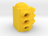 Traffic Light 3 Way Body 48:1 Scale 3d printed