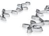 :Spiral Vine: Earrings 3d printed
