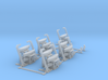 Davits 1/400 scale printable 3d printed