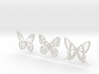 Butterfly Hair Pins 3d printed