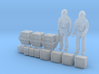 SPACE 2999 1/72 ASTRONAUT TWO W BOXES SET 3d printed