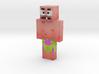 Ixi | Minecraft toy 3d printed