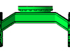 1/50th Forestry Undercarriage for Heavy Equipment 3d printed