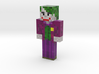 joker_arkham_city | Minecraft toy 3d printed