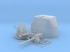 "1/48 RN 4"" MKV P Class Gun B Mount Closed Ports 3d printed 1/48 RN 4"" MKV P Class Gun B Mount Closed Ports"
