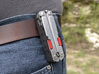 Holster for Leatherman Free P4 3d printed Thumb tabs sold separately