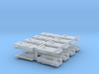 8 Sergent Coupler boxes with fine detail 3d printed