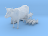 HO Scale Farm Animals 3d printed This is a render not a picture