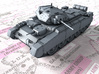 1/72 British Crusader Mk II Medium Tank 3d printed 1/72 British Crusader Mk II Medium Tank