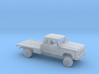 1/160 1991-93 Dodge Ram ExtCab Reg Flatbed Kit 3d printed