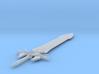 1:6 Miniature Ultima Weapon Sword - Final Fantasy  3d printed