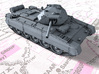 1/87 (HO) British Crusader Mk III Medium Tank 3d printed 1/87 (HO) British Crusader Mk III Medium Tank