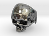 Mammoth Skull Ring No Mandible US size 10 with add 3d printed