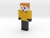 GingerNinja2116   Minecraft toy 3d printed