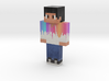 NEW_HD_COLORFUL_SKIN | Minecraft toy 3d printed