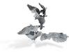 Anthropomorphic bird light arms (HSD miniatures) 3d printed