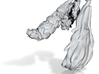 Anthropomorphic four misc tails  (HSD miniatures) 3d printed