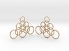 Ringy Earrings 3d printed