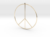 Gipsy Earring Peace 3d printed