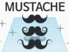 [1DAY_1CAD] MUSTACHE_type3 3d printed