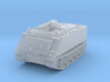 M125 A1 Mortar closed (no skirts) 1/200 3d printed