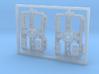 SBK00-001-00 Drehgestell Set Containertragwagen de 3d printed