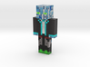 Growing   Minecraft toy 3d printed