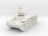 Chi-Ha Tank 1/72 3d printed