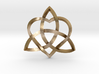 """Infinity Love pendant-Twisted 1.5"""" 3d printed"""