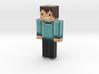 blocky achatius kész2 | Minecraft toy 3d printed