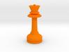 MILOSAURUS Chess MINI Staunton Queen 3d printed