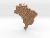 Brazil Grass Pendant 3d printed