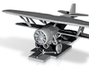 1/285 scale Curtiss BF2C-1 Goshawk Revised 3d printed
