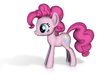 My Little Pony - Pinkie Pie (≈75mm tall) 3d printed
