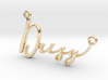 Daisy First Name Pendant 3d printed