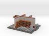 C-NgBsc12-Busseau-sur-Creuse-East Wing Interior 3d printed