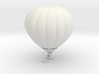 Hot Air Balloon with Heart (Unpainted) 3d printed