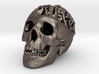 Awesome Brain Skull Pendant 3d printed