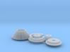 Moebius EVA Pod - Camera Cone and Hand Wheel 3d printed
