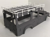 CA10005 Camel D110 Roof Rack 3d printed PLEASE NOTE: Parts shown in white for demonstration purposes only. All parts come in black.