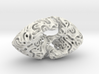 Reaction Diffusion Sculpture 3d printed