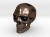 Realistic Human Skull (20mm H) - Pendant 3d printed