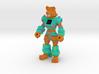 Hardcore Hyena (Full Color Sandstone) 3d printed