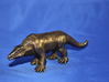 Crystal Palace Megalosaurus  3d printed bronze polished steel print-out